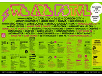 2x WEEKEND VIP TICKETS for WE ARE FSTVL 26 27 May £125 each