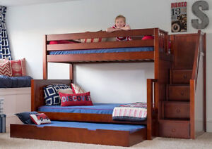 HOLIDAY EXTENDED SALE 15% OFF + FREE MATTRESS_ BUNK & LOFT BEDS Peterborough Peterborough Area image 4