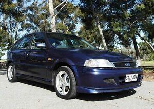 2001 Ford Laser KQ SR Blue 5 Speed Manual Hatchback Pooraka Salisbury Area Preview