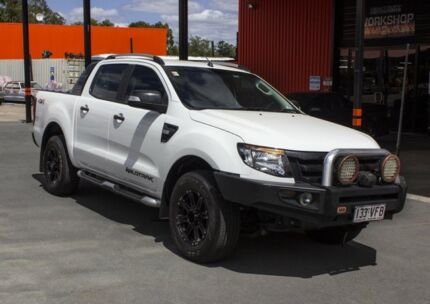 2015 Ford Ranger PX MkII Wildtrak 3.2 (4x4) White 6 Speed Automatic Dual Cab Pick-up Oxley Brisbane South West Preview