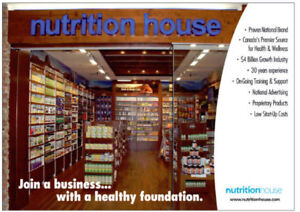 Franchise Owner for Nutrition House North Vancouver