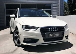 2013 Audi A3 8V Ambition Sportback S tronic White 7 Speed Sports Automatic Dual Clutch Hatchback Berwick Casey Area Preview