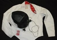 Fencing equipment 2 masks,2 Jackets,2EPEE, Mens and Ladies