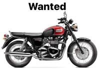 Triumph Bonneville T100 black / red 2014 to new