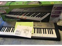 Quick Sale - Casio keyboard LK125 boxed
