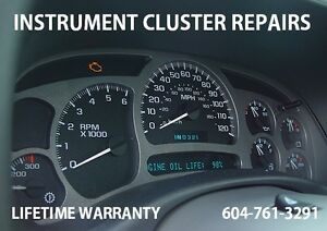 Ford, GMC, Instrument Cluster And Module Repair