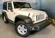 2012 Jeep Wrangler JK MY2012 Sport White 5 Speed Automatic Softtop Elizabeth Playford Area Preview