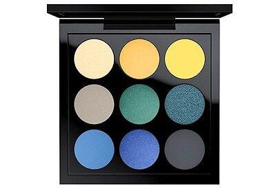 AUTHENTIC Mac Tropical Cool x 9 times nine Eyeshadow Palette BNIB