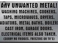 Unwanted scrap