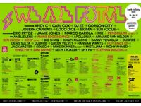 2x WEEKEND VIP TICKETS for sold out WE ARE FSTVL 25 26 27 May 2018 £250 for both or next best offer