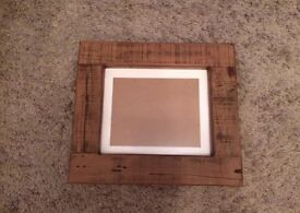 Picture Frame with solid wood frame