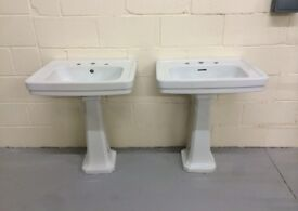 Basins and taps