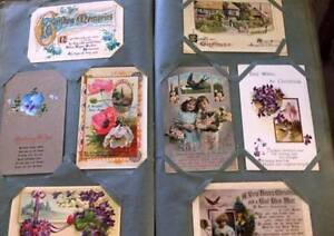 Decorative 1920/30 circa Greeting cards Zillmere Brisbane North East Preview