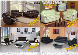 Deal Of the day Sectional with Ottoman Peterborough Peterborough Area image 4