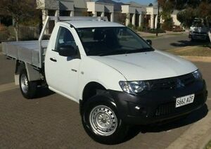 2013 Mitsubishi Triton MN MY13 GL White 5 Speed Manual Cab Chassis Ingle Farm Salisbury Area Preview