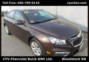 2015 Chevrolet Cruze 1LT - 0.9% - Touch Screen with Rear Camera