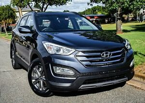 2013 Hyundai Santa Fe DM MY14 Active Charcoal 6 Speed Sports Automatic Wagon Medindie Walkerville Area Preview