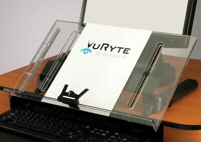 Vu Ryte Ergonomic Document Copy Holder In-line With Monitor Vur 18dc