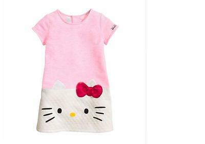 New Girls Clothes hello kitty dress girl Princess Baby Cotton children clothing (Girls New Clothes)