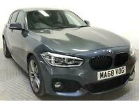 2018 68 BMW 1 SERIES 1.5 116D M SPORT 5D 114 BHP.*AUTO*SAT NAV*LEATHER*BMW HISTO