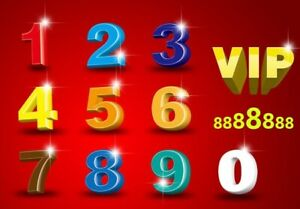 VIP Lucky Numbers For Sale