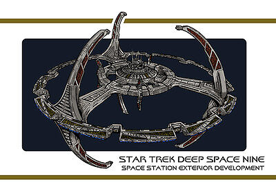 Star Trek Deep Space Nine DS9 Station Exterior Design Document
