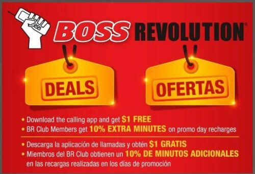 BOSS REVOLUTION LONG DISTANCE CHEAP INTERNATIONAL CALL RATE  DEALS DEALS ! !  $5