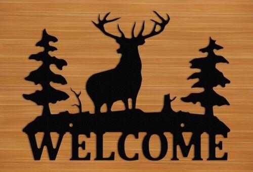 Elk Outdoor Welcome Sign