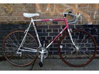 Road bike PANASONIC AL-4000 alu frame size 23inch, MAVIC, SHIMANO 105 - 14 speed serviced WARRANTY