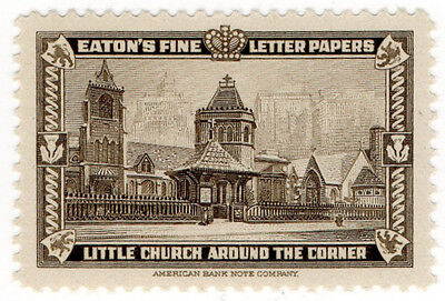 (I.B) US Cinderella : Eaton's Fine Letter Papers (Little Church)