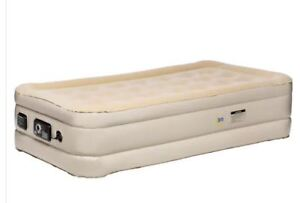 Serta Raised Twin Inflatable Mattress With Never Flat