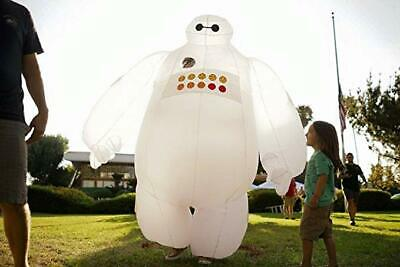 Big Costumes (Big Hero 6 Fantasia Baymax Mascot Adult Inflatable Baymax Costumes)