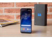 Samsung Galaxy S8 Midnight Black 64gb *UNLOCKED*