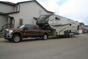 2015, 36ft fifth wheel + 2012 Ford F350 Super Duty 6.7L diesel
