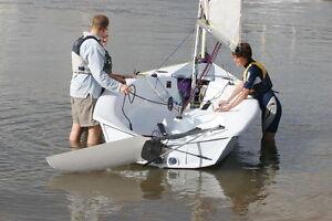 2 man Sail Boat