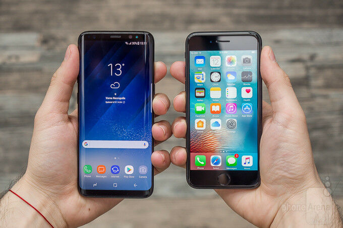 Iphone 7 32GB swap for Samsung Galaxy S8+ SWAP ONLY