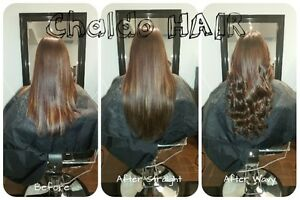 HAIR EXTENSIONS, colour, cut and more.... (FB: Chaldo HAIR) Kitchener / Waterloo Kitchener Area image 4