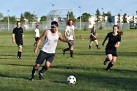 Beginner/Casual level soccer players