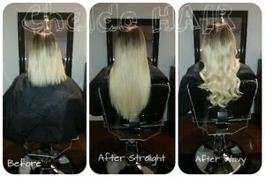 HAIR EXTENSIONS, colour, cut and more.... (FB: Chaldo HAIR) Kitchener / Waterloo Kitchener Area image 9