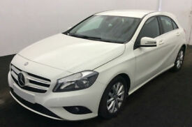 WHITE MERCEDES-BENZ A180 1.5 CDI SPORT AMG LINE A200 A220 1.8 FROM £45 PER WEEK
