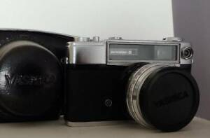 Rare Vintage Yashica Minister D 1:2.8 f=4.5 cm Film Camera w/ Case
