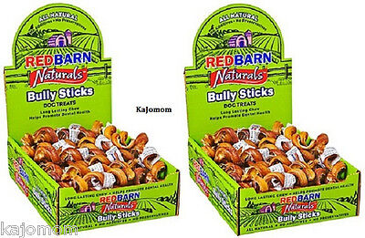 25 Red Barn BULLY SPRINGS FRESH Natural Sticks Chews SPIRALS Dental Treat