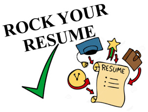 ROCK YOUR RESUME || Resume editing and other writing services!