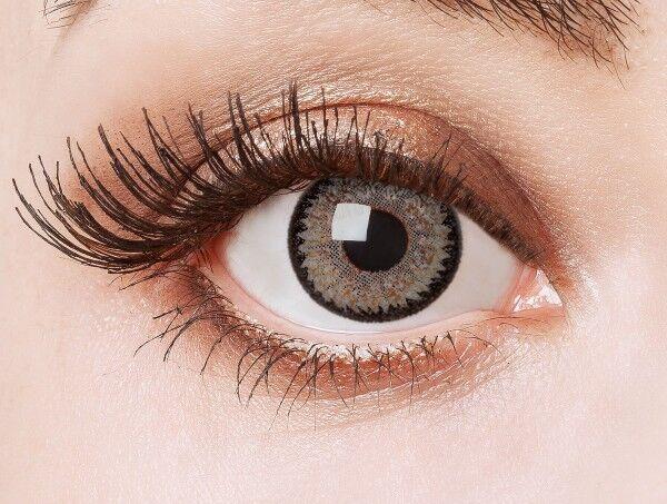aricona graue Cosplay Kontaktlinsen natürliche Circle Lenses farbige Jahreslinse