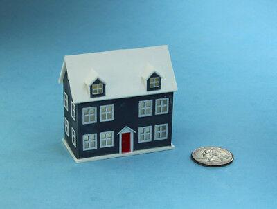 SUPER CUTE! Dollhouse Miniature Plastic Dollshouse with Rooms Inside! #D3109
