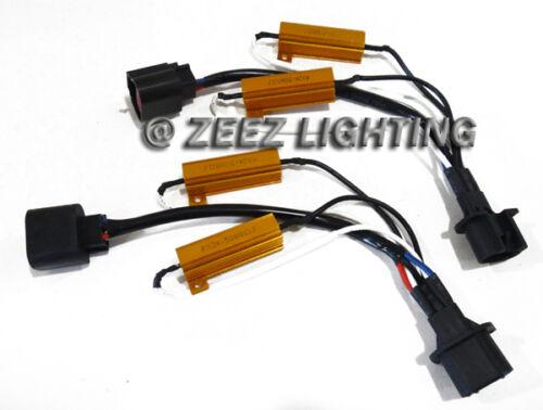 H13/9008 HID Resistor Decoder Anti-Flicker Bulb Out Error Free Warning Canceller
