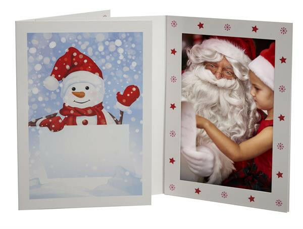 TAP Snowman Photo Folders for 4x6 Pictures ( Box of 500 )