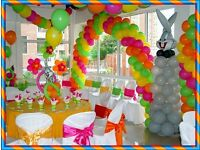Marias Parties Wedding Decoration Party Balloon Decoration Packages from £130 chair & table cover