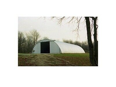 Steel 41x60x16 Metal Arch Quonset Agricultural Maintenance Building Material Kit