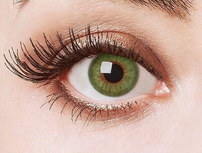 aricona Farblinsen deckend grüne farbige Kontaktlinsen bunt farbig intensiv grün (Bunte Kontaktlinsen)